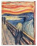 Vintage Munch The Scream Wall Art Print -...