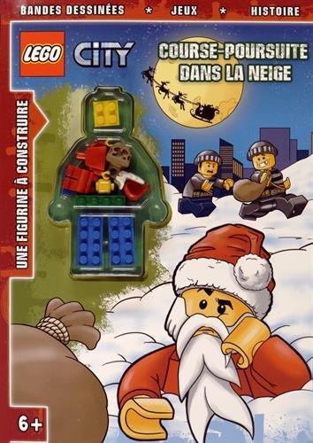LEGO-COURSE POURSUITE DANS LA NEIGE