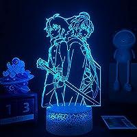 リボリョションLEDの夜のライト3Dの錯覚ランプのホームテーブルの装飾アクリル光の子供の子供のギフトランパラのアニメ-リモコン