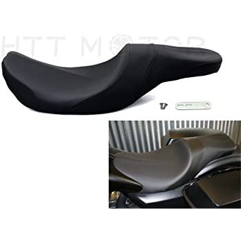 Mustang Hightail Fastback 1-Piece Seat for 08-20 Harley FLHX2 Extended Reach
