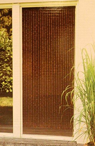 Leguana Handels GmbH Holzperlenvorhang Perlenvorhang Türvorhang 'Ganges' ca. 90x200cm (BxH)