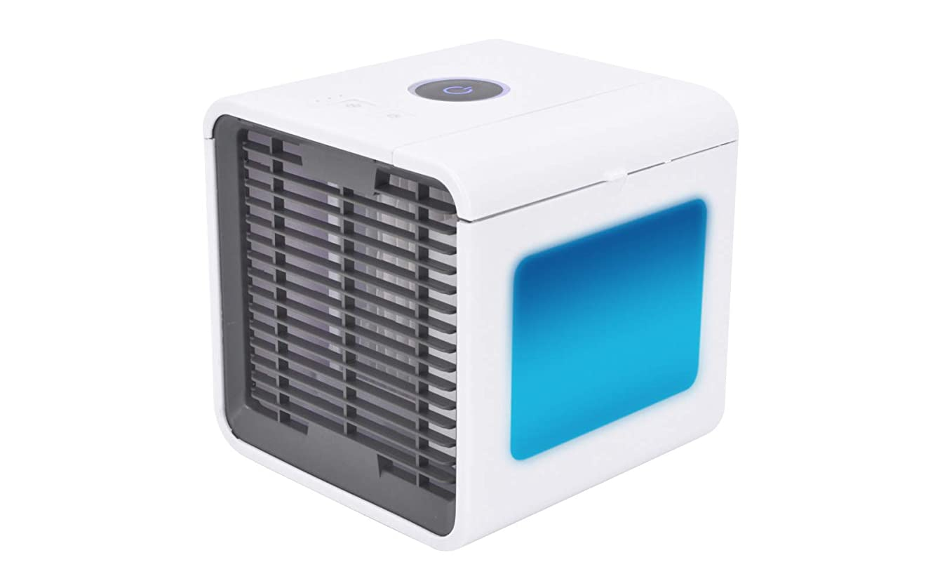-eternal- Personal Space & Portable Cooler   Evaporative Air Cooler and Humidifier   Portable Air Conditioner with Night Lamp