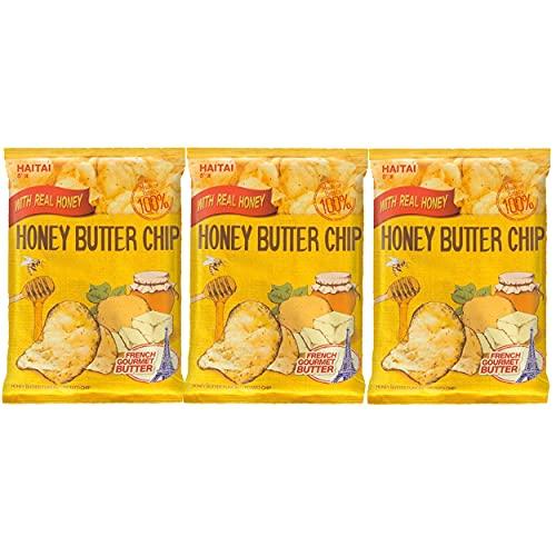 Haitai Honey Butter Chip BIG SIZE (120g X 3) / New Korea Potato Snack