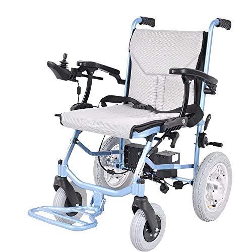 Y-L Bijzonder elektrische rolstoel, opvouwbaar, lichtgewicht, kan in het vliegtuig worden gebruikt, oude scooter, gehandicapte, oude rolstoel (lithiumbatterij).