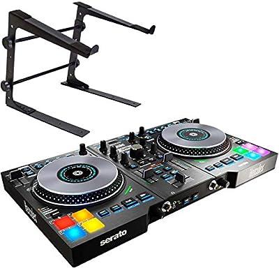 Hercules DJControl Jogvision USB DJ Controller + Keepdrum HA-LS10 Laptop Stand