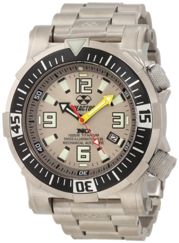 REACTOR Men's 54902 Poseidon Ti Limited 1000M Depth Tested Watch