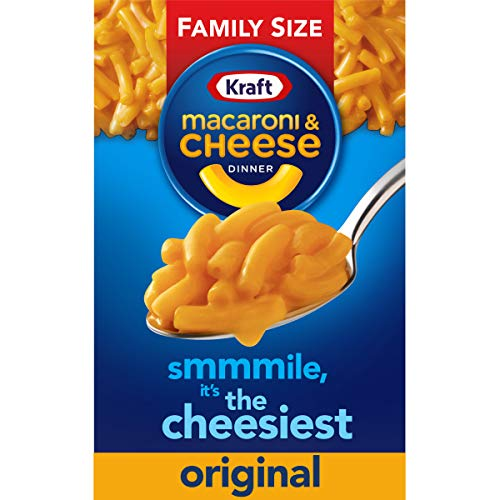 Kraft Original Flavor Family Size Macaroni and Cheese Meal (14.5 oz Boxes, Pack of 24)