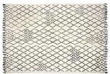 AUBRY GASPARD Tapis berbère en Coton Masuna 200 x 300 cm