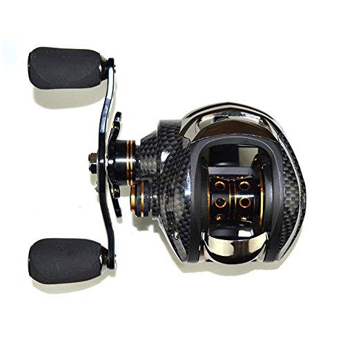 Lixada Carrete de Pesca 17+ 1rodamientos a Bola de Pesca Reel 7.0: 1Señuelo Casting Reels Izquierda/Derecha Carrete de Pesca