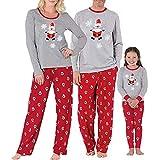 Pijamas Mujer Camisón Ropa A Juego para La Familia Mujeres Mamá Papá Noel Tops Blusa Pantalones Pijamas Familiares Ropa De Dormir Conjunto De Navidad Pijamas Navideños Familiares Mamá Multi