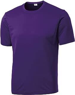 Opna Men's Big & Tall Short Sleeve Moisture Wicking Athletic T-Shirts Regular Sizes & XLT's