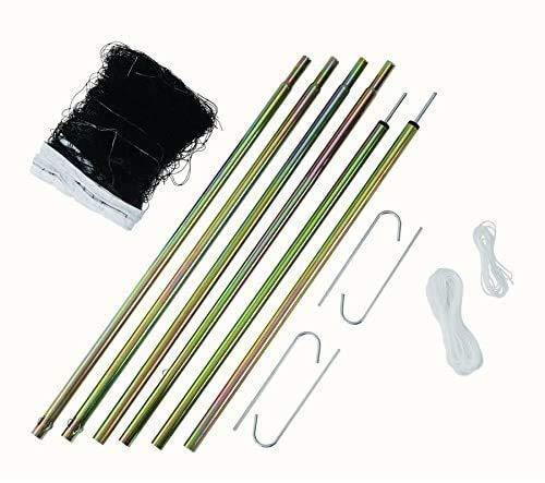 Victor Badminton-Netz und Pfosten, tragbar, robust