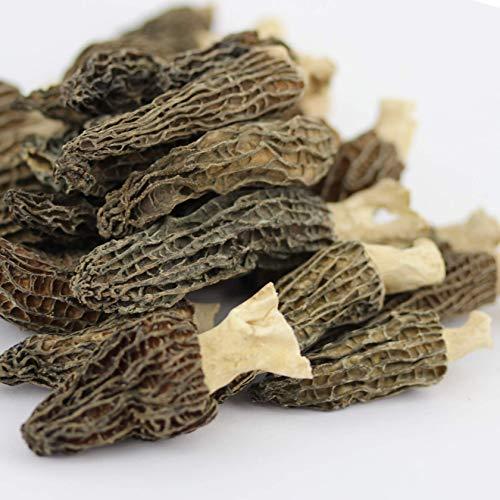 乾燥アミガサタケ モリーユ羊肚菌(Morchella esculenta)(Morilles・アミガサ茸)10g約8本~10本