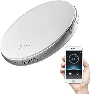 GREEM MARKET (グリームマーケット) バイブレーション Bluetooth アプリ スマホ 遠隔操作 充電式 心地よい振動 振動式 目覚まし時計 iLuv SmartShaker スマートシェーカー 品番:GMS01810(ホワイト)