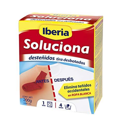 Iberia Soluciona-  Elimina desteñidos accidentales en ropa blanca -
