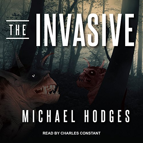 The Invasive audiobook cover art