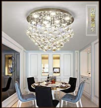 Crystal Ceiling Light LED 3 Brightness Crystal Chandelier Chandelier Ceiling Light Suitable for Staircase Corridor Living ...