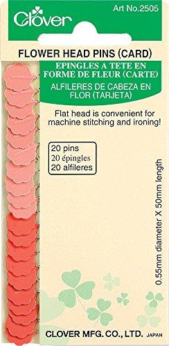 Flower Head Pins-20/Pkg