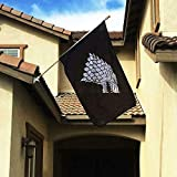 Fyon Game of Thrones Stark Sigil Flag Banner 3X5Feet