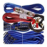 Complete 1500W Gravity 8 Gauge Amplifier Installation Wiring Kit Amp Pk3 8 Ga Blue - for Installer and DIY Hobbyist - Perfect for Car/Truck/Motorcycle/Rv/ATV