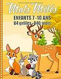 Mots mêlés enfant 7-10 ans 84 grilles - 840 mots: Gros Caractères Thème Nature 84 Grilles | 840 Mots | Avec Solutions Grand Format 21 x 29,7 cm Fabrication Française