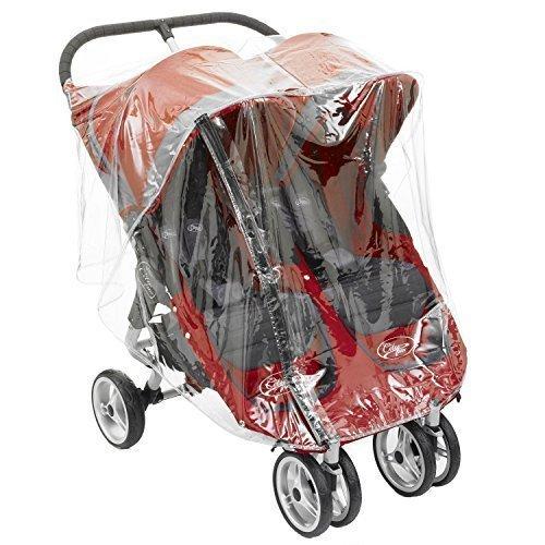1STOPBABYSTORE Jumeau Housse de pluie Pour Bébé Jogger Mini Et GT Double Par transport bébé