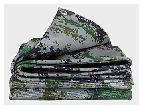 Waterdicht zeil camouflagezeil, ideaal voor op de camping, vloer, bladeren, zonnescherm, mat, outdoor, wandelen, strand, picknick shelter Ground, multisize opties, jungle Far