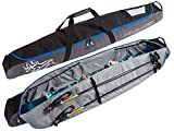 KULKEA Kantaja Ski Bag - Black/Grey (170 cm)