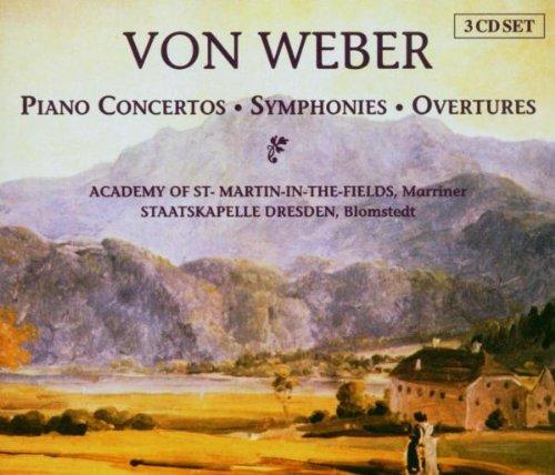 Weber: Piano Concertos, Symphonies, Overtures