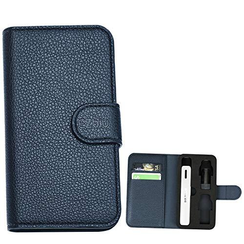 DR.VAPE 2 ケース ドクターベイプ ケース DR.VAPE Model 2用収納ケース 財布 カード DR.VAPE2 収納 ケース ドクター ベイプカバー 手帳型収納ケース (Blue)