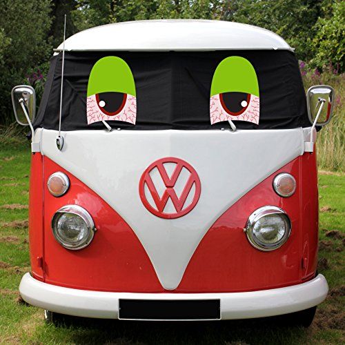 Brandstof Lagoon Blaze T1 Venster Camper Split Screen Wrap Cover Blinds Vensterscherm Splitty Eyes