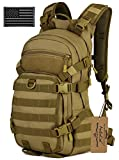ArcEnCiel 25L Tactical Motorcycle Cycling Backpack Military Molle Pack Helmet...