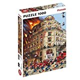 1000 piece puzzle Made from high quality paper Approximately 26.7 x 18.8 inches (68 x 48 cm) Made in Austria by Piatnik