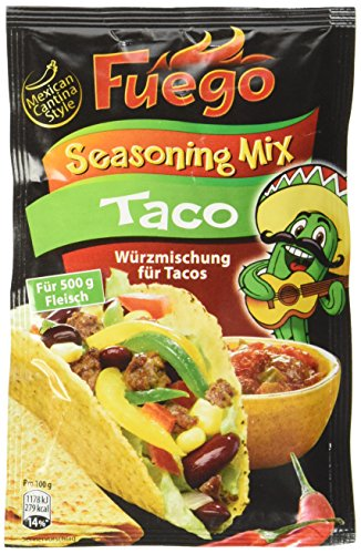 Fuego Taco Seasoning Mix (1 x 35 g)