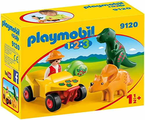 Playmobil 9120 - dinoforscher met quad