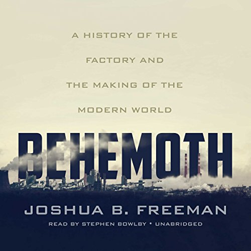 Behemoth audiobook cover art