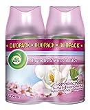 Air Wick Freshmatic Max Automatisches Duftspray Nachfüller, Magnolie & Kirschblüte, Duopack (1x 2 Stück)