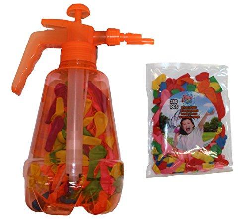 Speelgoed Wasserballonpumpe Wasserbomben-Füller mit Knotenhilfe inkl. Wasserballons 350 Stück