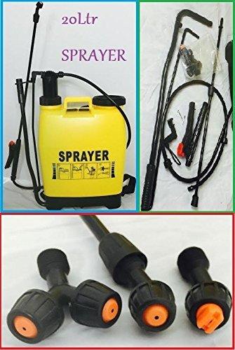 Generic A1.NUM.4454.CRY.1.. 20Ltr Knapsack backpack napsack pressure garden rayer c for water ssure sprayer chemical ate weed killer killer .. NV_1001004454-WRUK23_1520