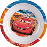Ciao- Disney Pixar Cars Piatto Fondo in Melamina, Multicolore, 33919