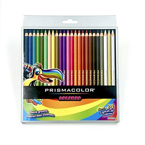 Prismacolor Scholar Colored Pencil Set, Pack of 24