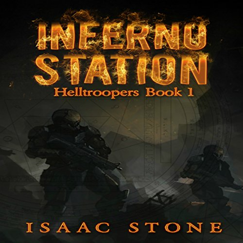 Inferno Station audiobook cover art
