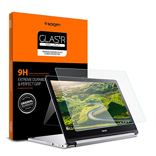 Spigen Tempered Glass Screen Protector Designed for Acer Chromebook R 13 Glass (1Pack) [13.3 Inch]
