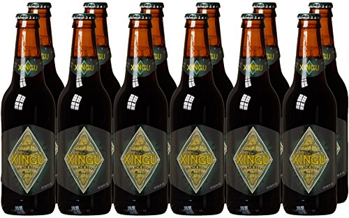 Xingu Indianer Bier - Schwarzbier aus Brasilien (12 x 0.355 l)