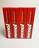 Lot of 4 Tubes Red Wenol Metal Cleaner/Polish German Stainless Copper Silver NEW
