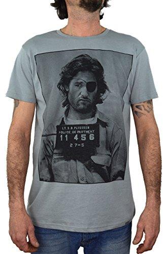 1999 Fuga da New York Iena Plinsky Faces T-Shirt Uomo Stampa Serigrafica Manuale ad Acqua … (S Uomo)