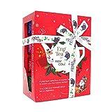 English Tea Shop - Teegeschenk mit Schleife 'Holiday Collection, Rot', BIO, 12 Pyramiden-Beutel...