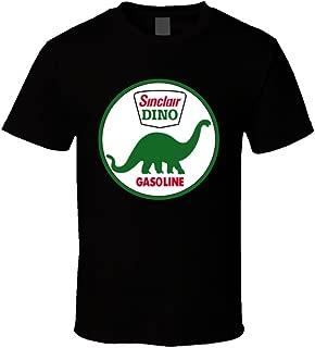 TeesGo Dino Sinclair Dinosaur Oil Gasoline Retro T Shirt