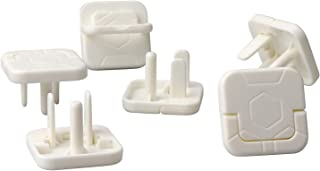 IFELISS Outlet Plug Covers (50 Pack) White Child Proof Socket Covers Electrical Protector Safety Caps-Easy Installation & Prevent Baby from Accidental Shock Hazard (3 Prong)