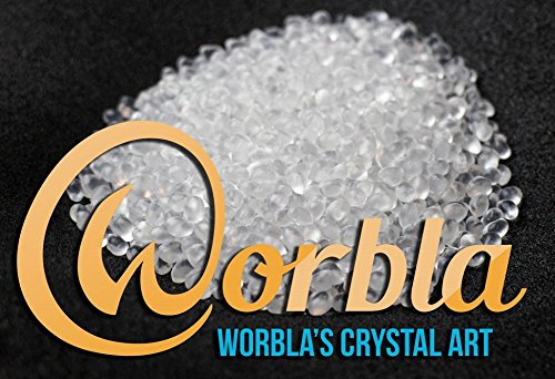 Worbla Crystal Art  Clear Moldable Thermoplastic Pellets 44 oz COPLAY Friendly Plastic Beads